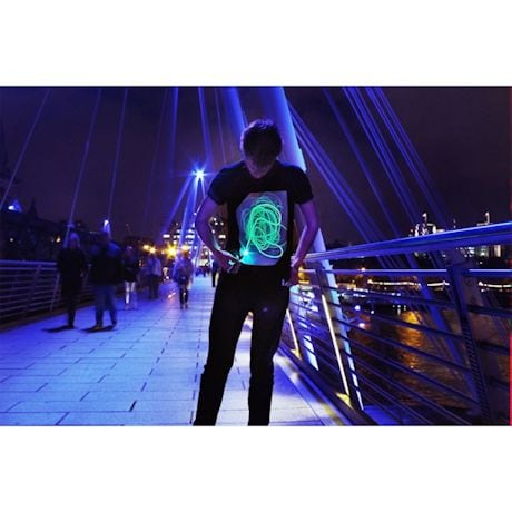 Interactive Glow-In-The Dark Tee