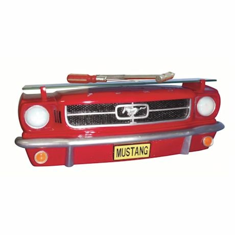Mustang Red Shelf