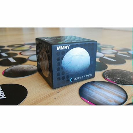 Moons & Planets Memory Game