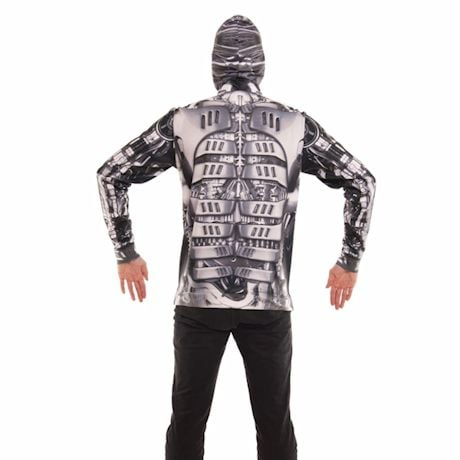 Robot Sublimated Full-Zip Hoodies