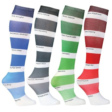 Color Swatch Socks