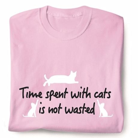 Time Spent With Cats T-Shirt