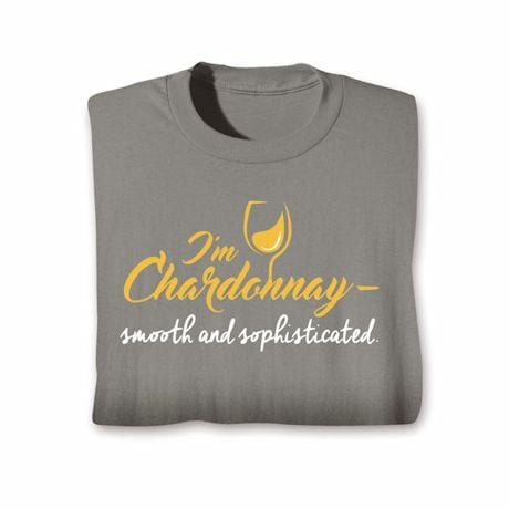Wine Notes T-Shirt- Chardonnay