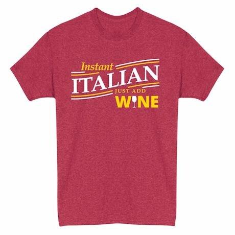 Just Add… Heathered Heritage Tees- Italian