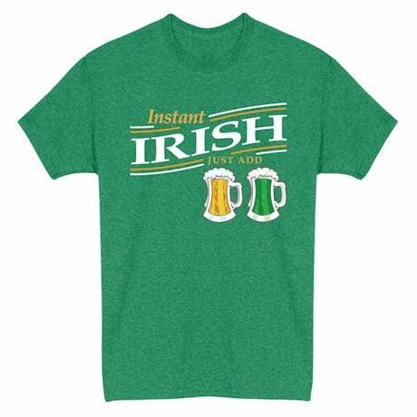 Just Add… Heathered Heritage Tees- Irish