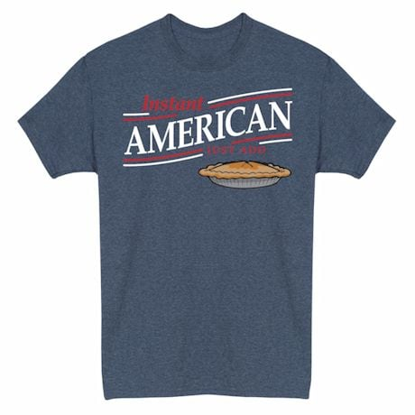 Just Add… Heathered Heritage Tees- American