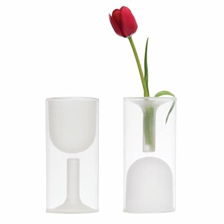 Double Wall Wine Glass Vase