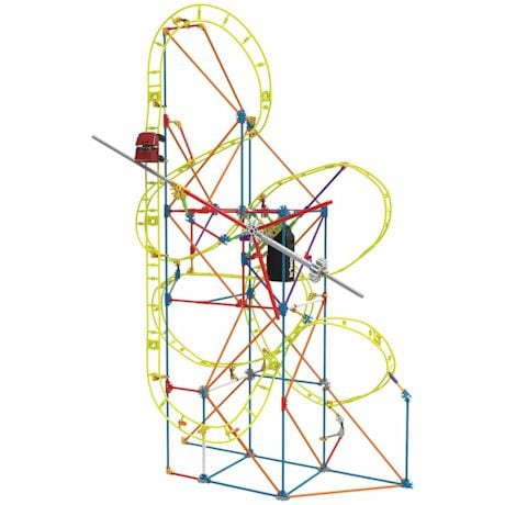 K'NEX - Kinetic Amusement Park Building Kits- Clock Work Coaster