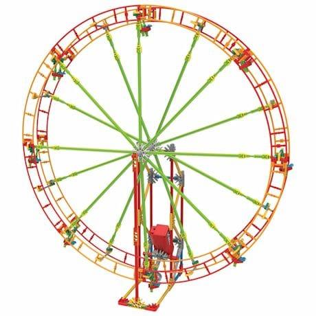 K'NEX - Kinetic Amusement Park Building Kits- Revolution Ferris Wheel