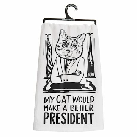 Better Candidates Dish Towels- Cat