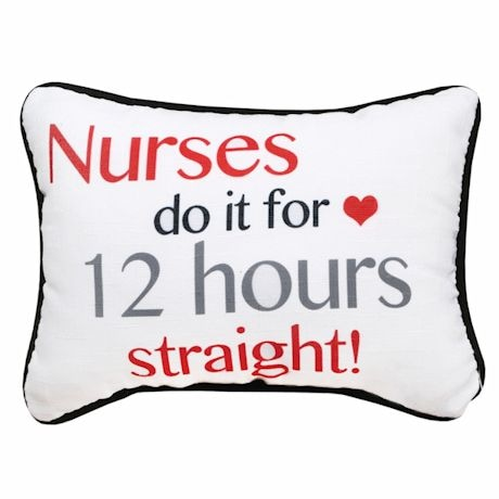 Hardworking Nurses Pillow