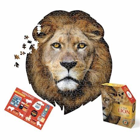 550 Piece Giant Animal Puzzles- Lion