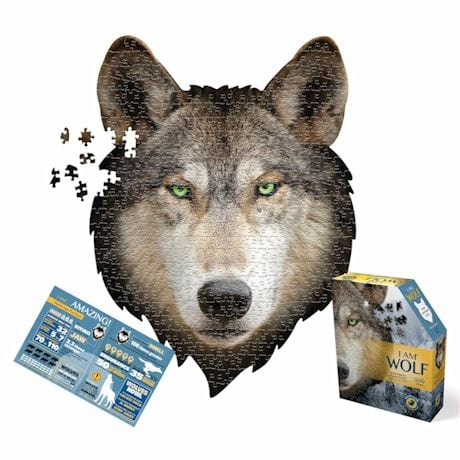 550 Piece Giant Animal Puzzles- Wolf