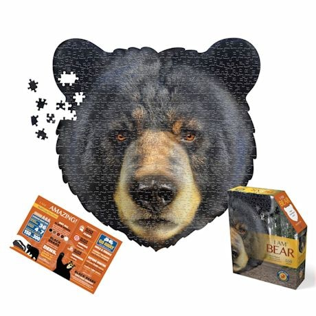 550 Piece Giant Animal Puzzles- Bear