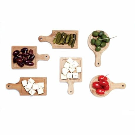 Mini Wooden Serving Boards