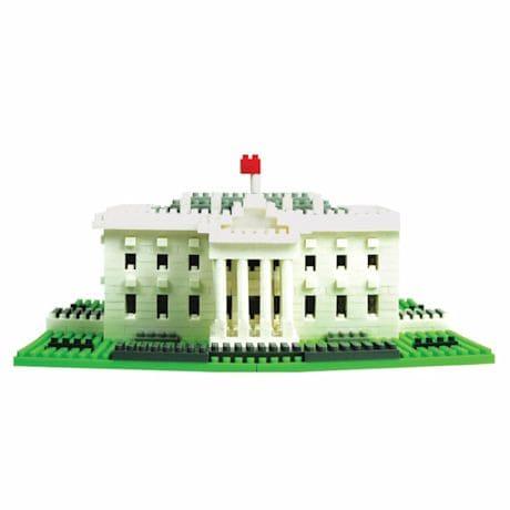 The White House Nanoblock® Puzzle Kit