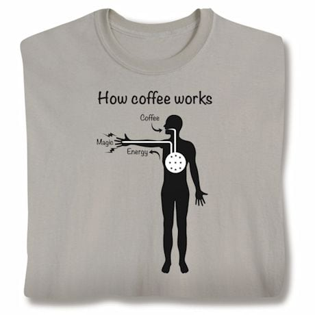 How Coffee Works Shirts