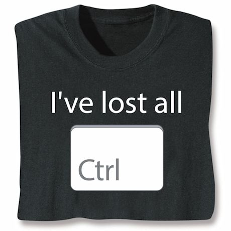 Lost All Ctrl Tee
