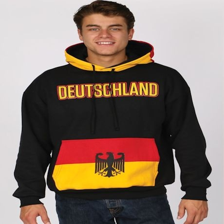 International Flag Hoodies - Germany