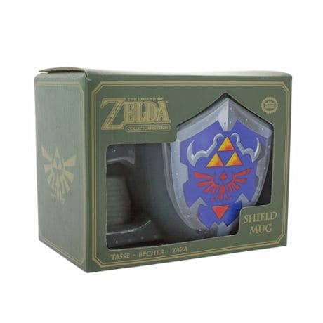 Nintendo The Legend of Zelda Link's Shield Shaped Mug
