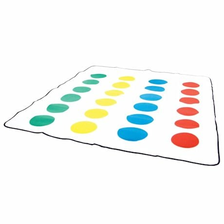 Milton Bradley Twister Game Blanket and Throw With Waterproof Backing