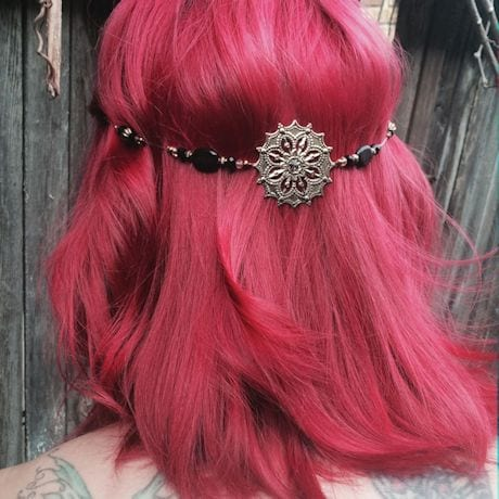 Clip-In Hair Jewelry- Antique Gold