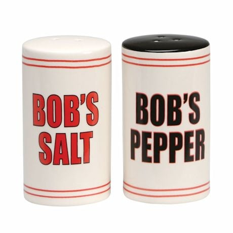 Bob's Salt & Pepper Shakers