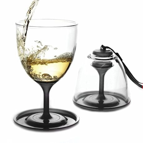 Stackable Vino Glasses