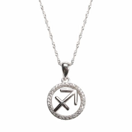 Sagittarius Horoscope Necklace