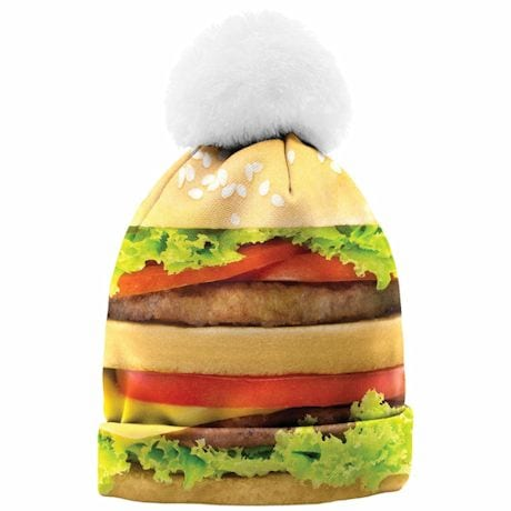 Photo-Real Beanies - Hamburger