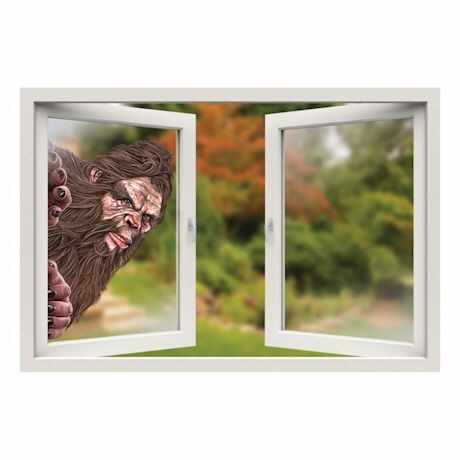 Bigfoot Window Cling
