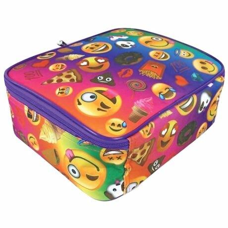 Emojicon Lunch Boxes- Multi-Color