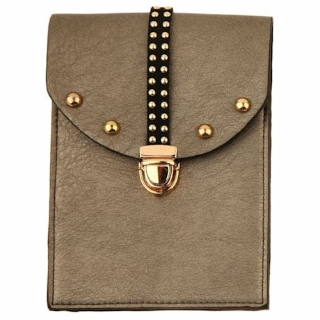 Cell Phone Crossbody Purses - Pewter