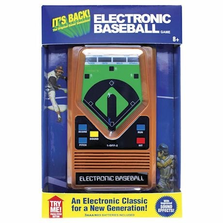 Electronic Hand-Held Sports Games- Baseball