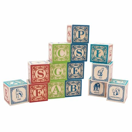 Foreign Language Abc Blocks