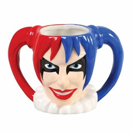DC Comics 3-D Mugs - Harley Quinn Mug