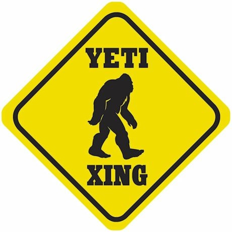 Crossing Signs - Yeti