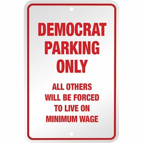 Political Parking - Democrat