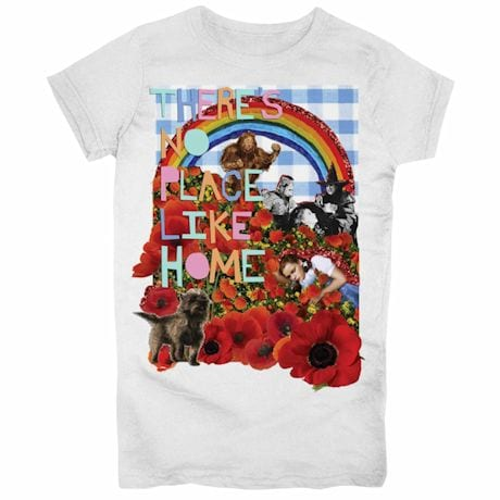 There's No Place Like Home Juniors T-Shirt