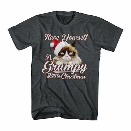Grumpy Cat T-Shirt- Christmas