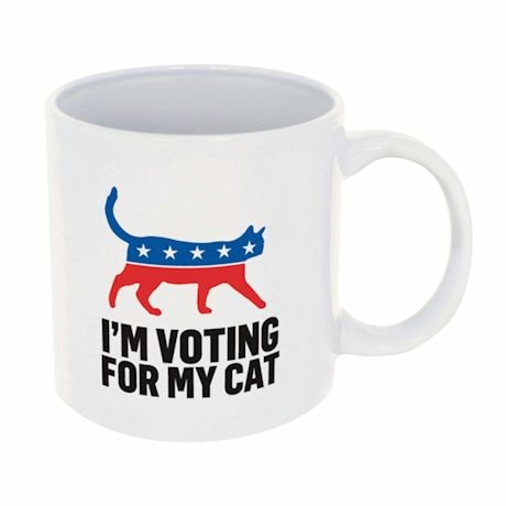 I'm Voting For My Cat Mug