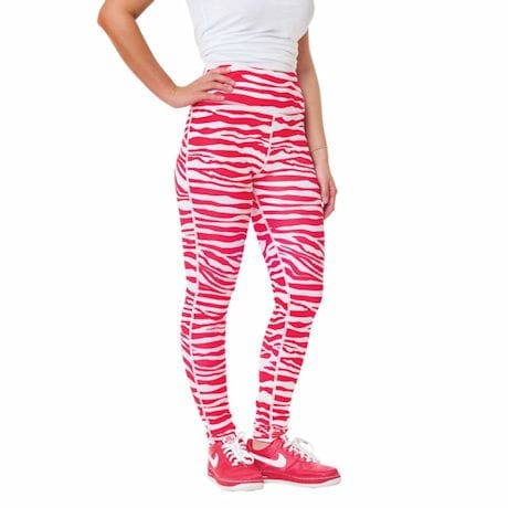 Team Leggings - Red/White
