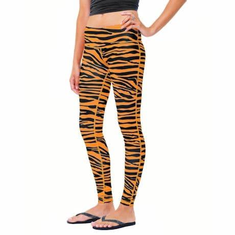 Team Leggings - Orange/Black