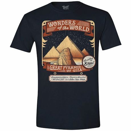 Wonders Of The World T-Shirt