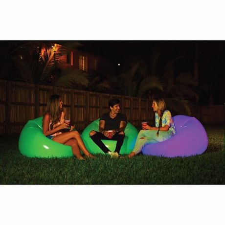 Illuminated Inflatable Chair