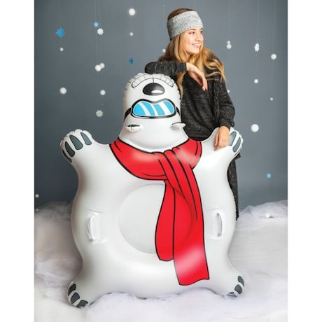 All Season Sports Tube - Giant Polar Bear