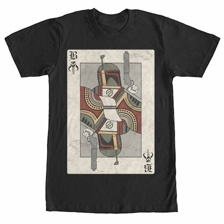 Boba Fett Playing Card Tee