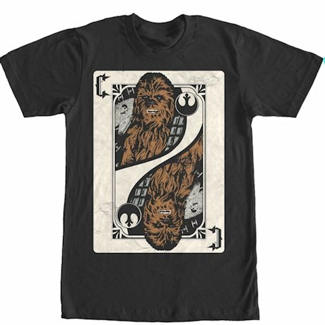 Chewie Playing Card Tee