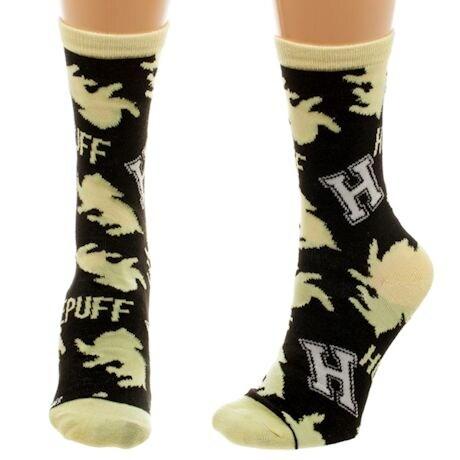 Harry Potter Hufflepuff Crew Socks