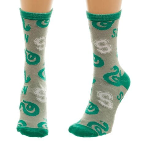 Harry Potter Slytherin Crew Socks